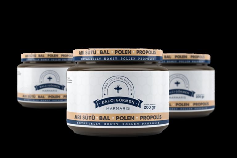 Arı Sütü, Bal, Polen/ Ambalaj Tasarımı