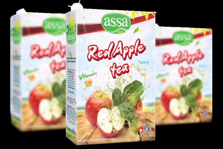 Kırmızı Elma Çayı/ Ambalaj Tasarım