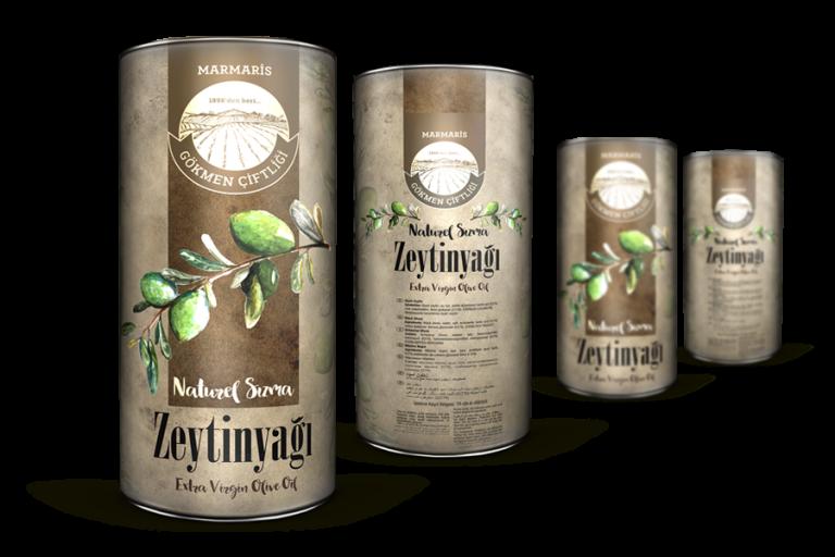 Teneke Zeytinyağı/ Ambalaj Tasarımı